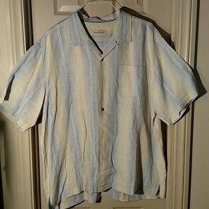Tommy Bahama Original fit 100%Linen shirt